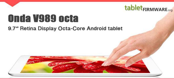 9.7 inch Retina Display Onda V989 Octa Core Google Android 5 Tablet Computer