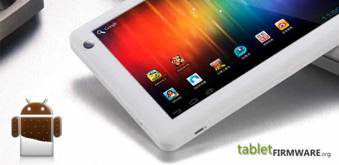Ramos W6HD tablet pc android 4.0.3 ice cream sandwich firmware