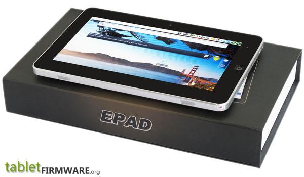 Epad tablet firmware.