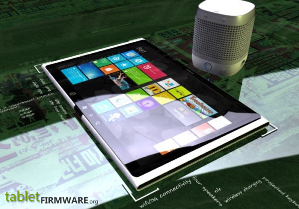 Nokia Lumia Expresso Windows 8 Concept tablet