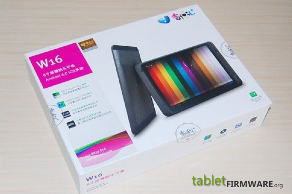 Ramos Pt W16 Android 4.0 ics 8'' tablet real shots
